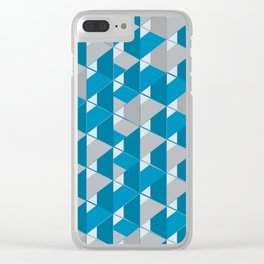 3D Lovely GEO Clear iPhone Case