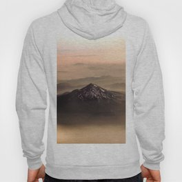 The West is Burning - Mt Shasta - nature photography Hoody