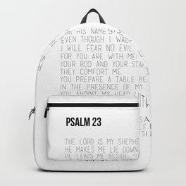 Psalm 23 #minimalist Backpack