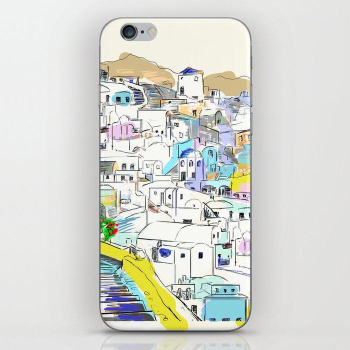 Santorini Oia iPhone Skin