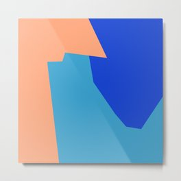 Minimalism Abstract Colors #3 Metal Print