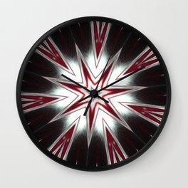 Black Starz Wall Clock
