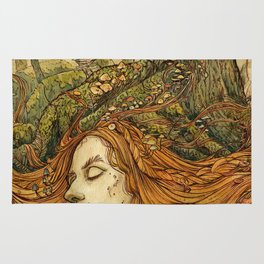 Forest Lady Rug