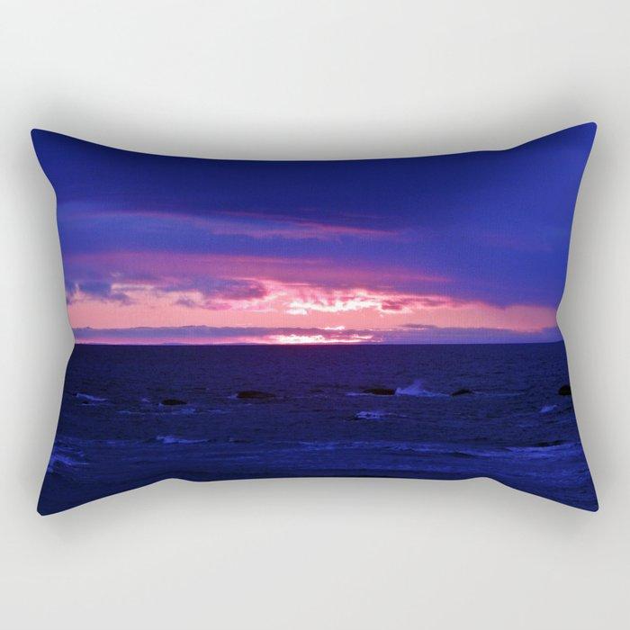 Purple Twilight Rectangular Pillow