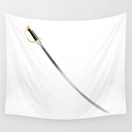 US Cavalry Sabre Wall Tapestry