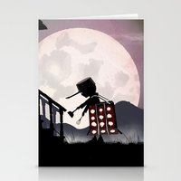 dalek Stationery Cards featuring Dalek Kid by Andy Fairhurst Art