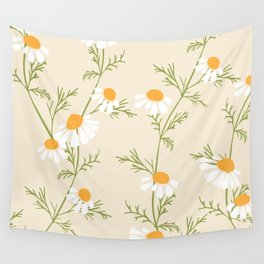 Chamomile Collection - Tea Time Wall Tapestry