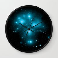 constellation Wall Clocks featuring Constellation by 2sweet4words Designs