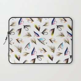 Classic Salmon Fishing Flies Laptop Sleeve