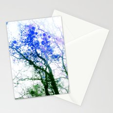 Tree Abstract 1 Stationery Cards