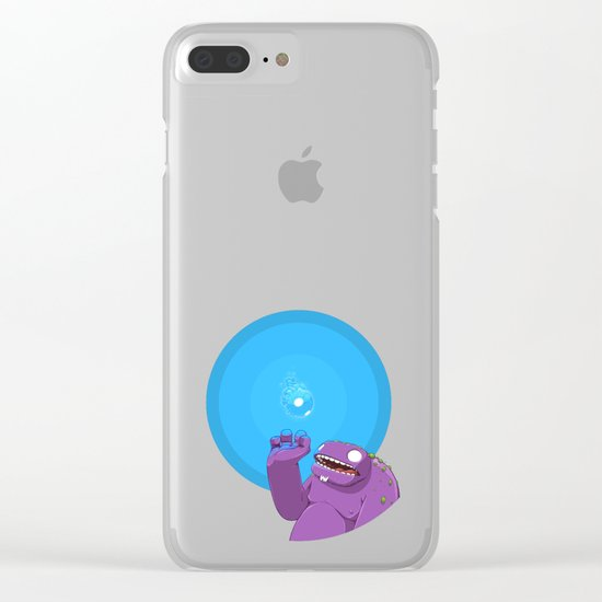 Ghost of Mello Marsh Clear iPhone Case