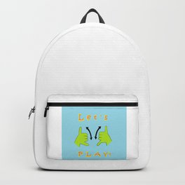 ASL Let's PLAY! Backpack
