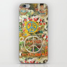Peace Sign - Love - Graffiti iPhone Skin