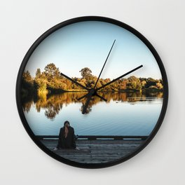 Super Silver Haze Wall Clock
