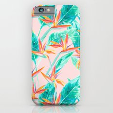 Birds of Paradise Blush iPhone 6 Slim Case
