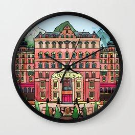 Swiss Hotel Wall Clock