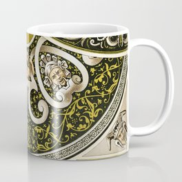 16th Century pattern from L'ornement Polychrome (1888) by Albert Racinet Coffee Mug