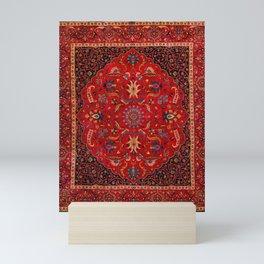 Antique Persian Rug Mini Art Print