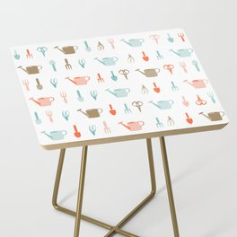 AFE Gardening Tools Pattern Side Table