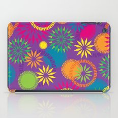 Spikeyflower Purple iPad Case
