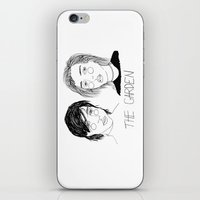cactei iPhone & iPod Skins featuring The Garden by ☿ cactei ☿