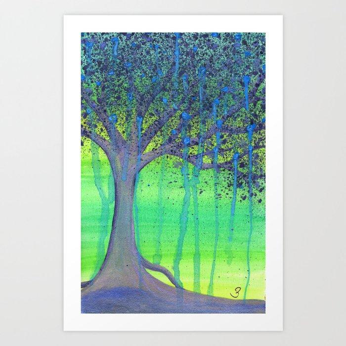 Tree of Tears Art Print