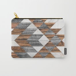 Urban Tribal Pattern No.12 - Aztec - Wood Carry-All Pouch