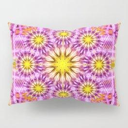 Celestial Matrix Mandala Pillow Sham