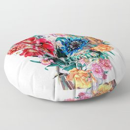 Momento Mori VI Floor Pillow