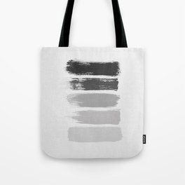 Black & White Stripes Tote Bag