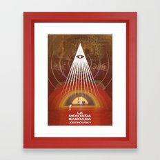The Holy Mountain, Jodorowsky Framed Art Print