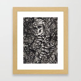 ...static (Ellipsis series) Framed Art Print