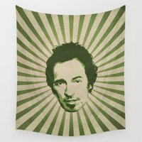 boss Wall Tapestries featuring The Boss by Durro