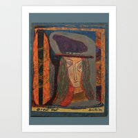 Great Hat Art Print