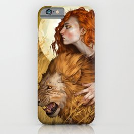 Fingers laced to crown iPhone Case
