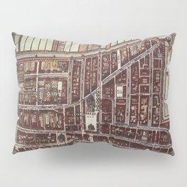 Replica city map of Delft 1649 Pillow Sham