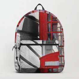"""""""Classic Britain"""" Telephone Booths Backpack"""