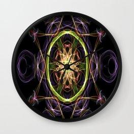The Atom Star Wall Clock