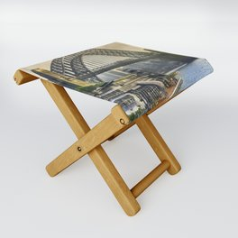 Sydney Harbour Folding Stool