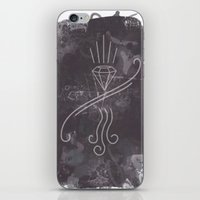 graffiti iPhone & iPod Skins featuring Graffiti by Isaak_Rodriguez