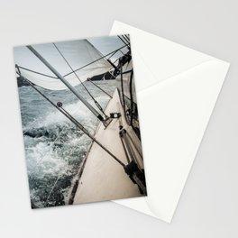 Yacht Race Stationery Cards