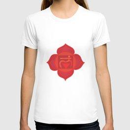 Muladhara Root Red Chakra T-shirt