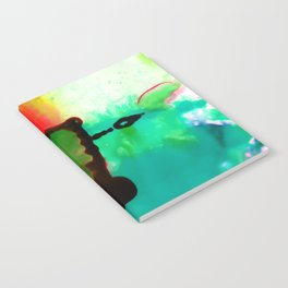 Abstract Bliss 4G by Kathy Morton Stanion Notebook