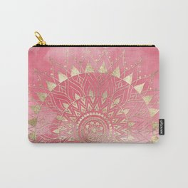 Modern  gold mandala Carry-All Pouch