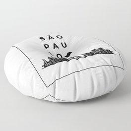 Sao Paulo Floor Pillow