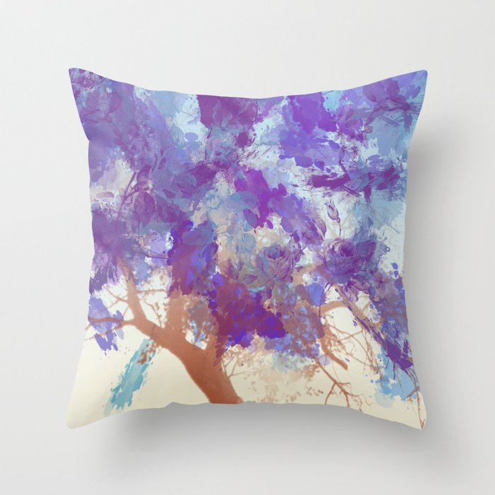 Water Your Tree of Life. Throw Pillow