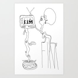 FIM FOR KNOWLEDGE Art Print