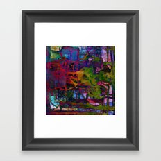 colors fusion Framed Art Print