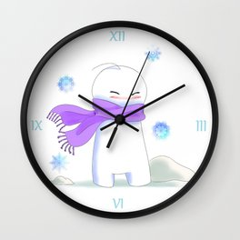 Sup Guy Is Cold Wall Clock