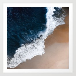 Even the biggest waves... Art Print
